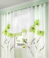 souarts blau stickerei transparent gardine vorhang