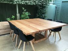 Large Square Vic Ash Dining Table Handmade Locally In Brisbane