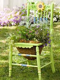 337 best garden chairs decorated images on pinterest chair