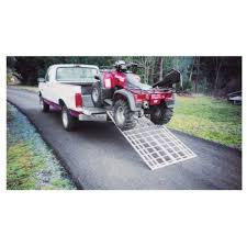 Five Star Bi-Fold Aluminum ATV Loading Ramp — 1,500-Lb. Load ... Madramps Hicsumption Tailgate Ramps Diy Pinterest Tailgating Loading Ramps And Rage Powersports 12 Ft Dual Folding Utv Live Well Sports Load Your Atv Is Seconds With Madramps Garagespot Dudeiwantthatcom Combination Loading Ramp 1500 Lb Rated Erickson Manufacturing Ltd From Truck To Trailer Railing Page 3 Atv For Lifted Trucks Long Pickup Best Resource Loading Polaris Forum Still Pull A Small Trailer Youtube