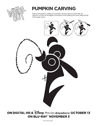 Tinkerbell Pumpkin Stencil by Free Disney Pumpkin Carving Templates