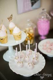 Pink And Gold Birthday Themes by Modern Pink U0026 Gold Birthday Party