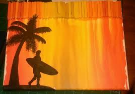 Melt To Your Hearts Content Let Cool And Harden For A Few Minutes I Painted Silhouette On Mine Match My Blue Green Ones