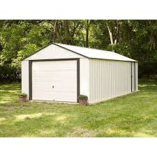 Arrow Shed Instructions 10 X 12 by Arrow Murryhill 12 Ft 2 In W X 31 Ft 4 In D Metal Garage Shed