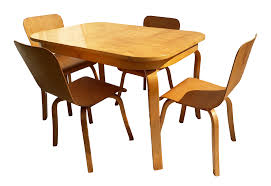 1940s Danish Modern Czerwinski And Stykolt For Canadian Wooden Aircraft  Company Dining Set - 5 Pieces Art Deco Ding Room Set Walnut French 1940s Renaissance Style Ding Room Ding Room Image Result For Table The Birthday Party Inlaid Mahogany Table With Four Chairs Italy Adams Northwest Estate Sales Auctions Lot 36 I Have A Vintage Solid Mahogany Set That F 298 As Italian Sideboard Vintage Kitchen And Chair In 2019 Retro Kitchen 25 Modern Decorating Ideas Contemporary Heywood Wakefield Fniture Mediguesthouseorg