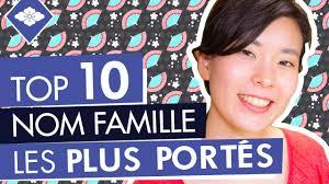 nom le plus porte en top 10 nom de famille japonais les plus portés