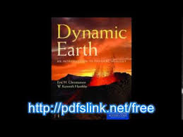 Download Dynamic Earth An Introduction To Physical Geology PDF
