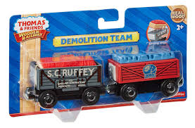 Amazon.com: Fisher-Price Thomas & Friends Wooden Railway, Demolition ...
