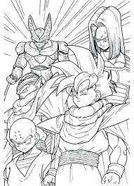 Free Dragon Ball Z Kai Printable Coloring Pages Super Pictures Print Full Size