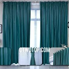 amazon curtains living room thin blackout teal simple bedroom