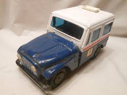 VINTAGE TOY METAL Tin Jeep Post Office Mail Truck Bank / 1/18 Scale ... Usps Mail Truck Stock Photos Images Alamy Post Office Buxmontnewscom Indianapolis Circa May 2017 Usps Trucks July The Berkeley Post Office Prosters Cleared Out In Early Morning Raid Other Makes Vintage Step Vans Pinterest Says It Will Try To Salvage Some Mail After Fire Local Truck New York Usa Us Vehicle Photo Charlottebased Spartan Motors Will Build Cargo Vehicles For Postal Trucks Hog Parking Spots Murray Hill February