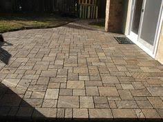 stone patio as patio furniture with fancy menards patio blocks