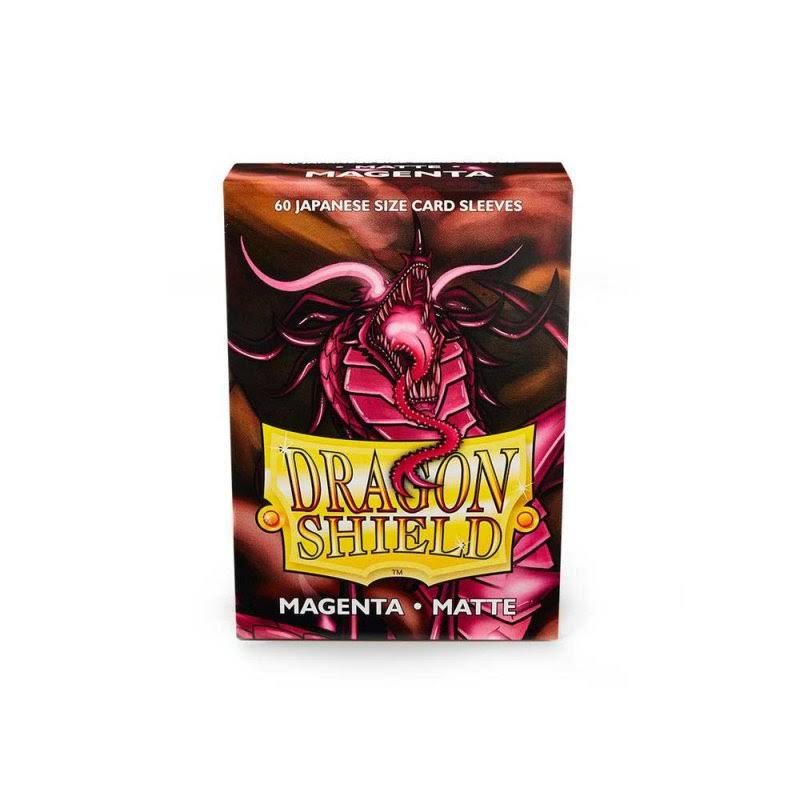 Dragon Shield Sleeves: Japanese Matte Magenta (60)