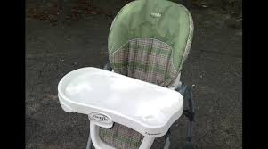 Cosco Slim Fold High Chair Recall by High Chair Evenflo Expressions Tagsalecloud Com Youtube