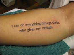 Tattoo Bible Quotes Fair 45 Inspirations For Verse Tattoos