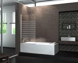 Badewanne Mit Dusche ᐅ Duschwand Aus Glas Für Badewanne Dusche Walk In Dusche