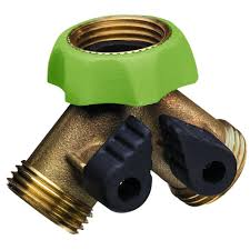 Decorative Brass Hose Bibs by Ray Padula Pro Series Deluxe Brass Hose Adapter Faucet Y Splitter
