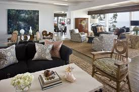 Rustic Area Rugs Living Room Contemporary With Corona Del M Southern California Design Services