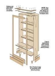 built in bookshelf plans pdf google search woodworking plans