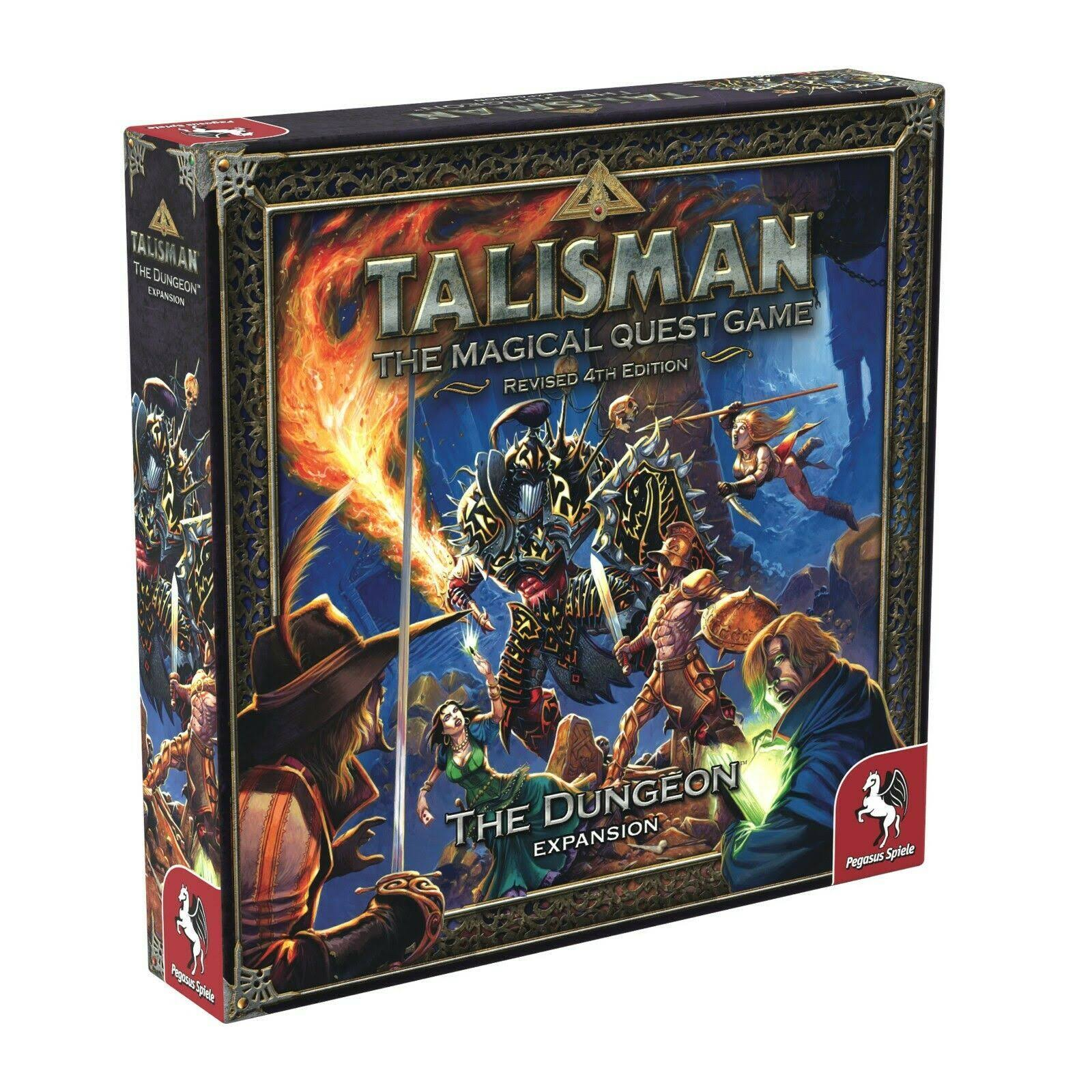 Talisman Revised 4th Edition: The Dungeon Expansion Board Games