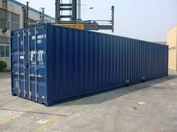 100 Shipping Containers 40 FT NEW BUILD ISO SHIPPING CONTAINERS 2018 RAL 5013 DARK BLUE ONE
