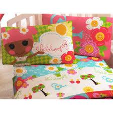amazon com lalaloopsy sew magical rag dolls 4pc full bed sheet