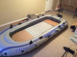 Intex Excursion 5 Floor Board by Inflatable Fishing Boat Project Diy