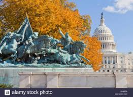 Ulysses S Grant Memorial On The US Capitol Building Grounds