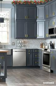 Gray Kitchen Cabinets Colors Captivating Grey Cabinets Kitchen The Finishing Touches On Our