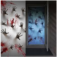 Great America Halloween Haunt Hours 2015 by Amazon Com 2 Piece Giant Bloody Window Posters Halloween Party