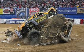 100 Monster Trucks Crashing Truck HD Wallpaper Background Image 2560x1600 ID