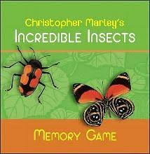Christopher Marleys Incredible Insects Memory Game Mg001