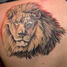 Lion Shoulder Tattoo On TattooChief