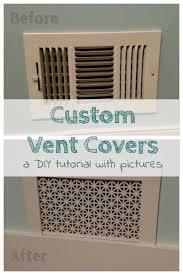 Decorative Air Return Grille by Best 25 Vent Covers Ideas On Pinterest Return Air Vent Custom