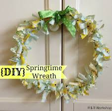 DIY Springtime Wreath Quick And Easy Craft Idea GUEST POST