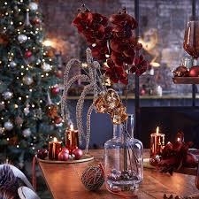 weihnachtliche tischdeko in rot klassische weihnachtsdeko