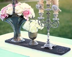 SET OF 6 Rustic Vintage Bride Shabby Chic Dark Walnut Custom Personalized Engraved Wood Slice Flower Arrangement Candle Holder Centerpiece Table Decorations