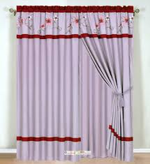 Waterfall Valance Curtain Set by Shower Curtain And Valance Sets