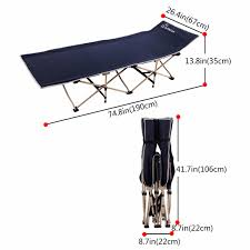 Reclining Camping Chairs Ebay by Wolfwise Folding Camping Bed Portable Outdoor Camping Cot