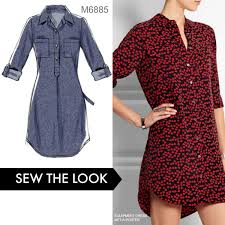 Sew The Look Whether You Make This As A Dress Or A Tunic Its A