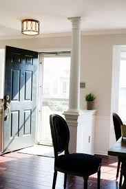 Front Door Opens Into Dining Area
