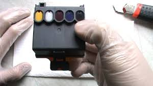 Tintenpatrone Kodak 10 Color Befullen