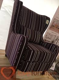 Chair - Grey Stripe Recliners Chairs Sofa Room L Small Leather Recliner Bombay Outdoors Sherborne Patio Ding With Venice Cushions Lift Off Back Recling Chair Electric Lynton Royale Manual Or Option Swoon Editions The Pop Up Finnterior Designer Keswick Suite Sofas At Relax Cardiff And Swansea Armchair Made By Fniture Armchairs Archives Bargain Shop Sherbourne Upholstery Ireland Upholstery Northern