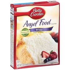 Betty Crocker White Angel Food Cake Mix Pack 3 16oz Boxes