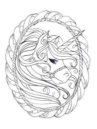 Coloring Pages Unicorn For Adults 3 As Well