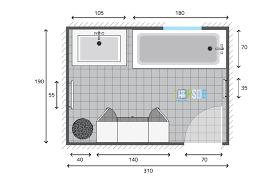 plan de salle de bain de 5 9m2 idée salle de bain plan