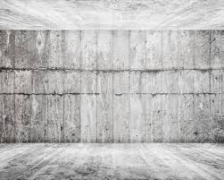 100 Concret Walls Abstract White Interior Empty Room With Concrete Walls