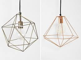 The Other Day I Was Looking For Lighting Options Some Of Rooms In Our House And Came Across These Cool Geometric Pendants Left Right