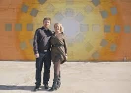 Deep Ellum Wall Murals by Engagement Shoot In Deep Ellum Dallas