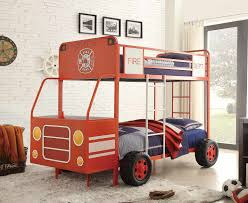 Homelegance Engine One Twin/Twin Bunk Bed - Bright Red Metal B2023-1 ... Boysapos Fire Department Twin Metal Loft Bed With Slide Red For Bedroom Engine Toddler Step 2 Fireman Truck Bunk Beds Tent Best Of In A Bag Walmart Tanner 460026 Rescue Car By Coaster Full Size For Kids Double Deck Sale Paw Patrol Vehicle Play Curtain Pop Up Playhouse Bedbottom Portion Can Be Used As A Bunk Curtains High Sleeper Cabin And Bunks Kent Large Image Monster